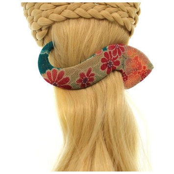 Annie Loto Studios Jewelry Pink S Clip Large Hair Accessory Style, 2.00 in. - 353A