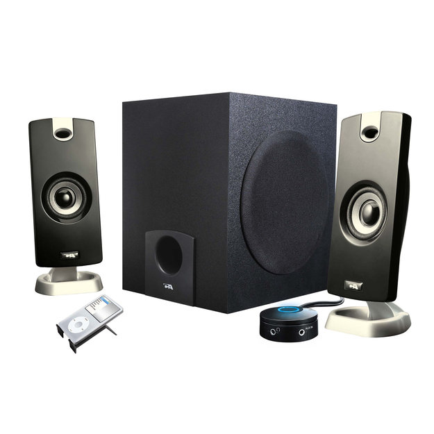 Cyber Acoustics CA-3080rb 3-Piece Speaker System