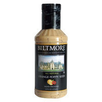 Biltmore Orange Poppy Seed Salad Dressing, 16-Ounce Bottles (Pack of 6)