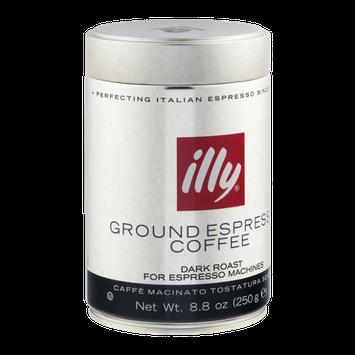 illy Ground Espresso Coffee Dark Roast