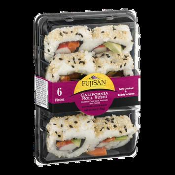 Fujisan California Roll Sushi - 6 Piece