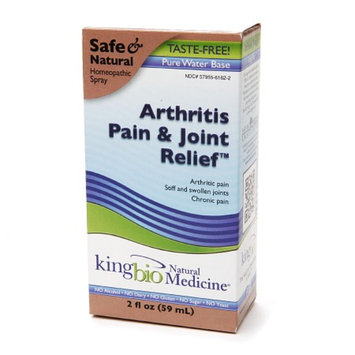 Natural Medicine by King Bio Arthritis Pain & Joint Relief