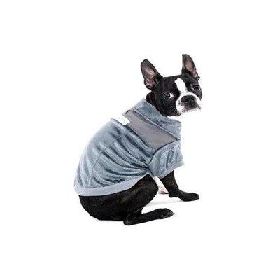 Ethical Pet Ski Lodge Dog Jacket Color: Grey, Size: Medium