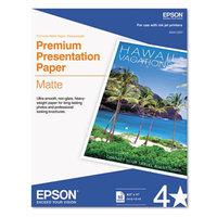 Epson Heavyweight Matte White Inkjet Paper - EPSON AMERICA INC.