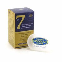 Bundle - 2 Items: 1 Bottle of No. 7 Joint Support By Solgar - 30 Vegetable Capsules and 1 VDC Pill Box