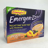 Emergen-C Emergen-zzzz Nighttime Sleep Aid with Melatonin, Peach 24 ea Pack of 5