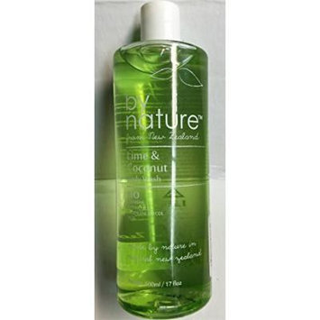 By Nature Lime & Coconut Body Wash