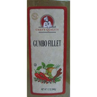 CHEF'S QUALITY GUMBO FILLET 12 OZ.