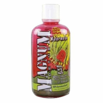 10 Pack - Magnum Detox Cleanser 32 Fl Oz Watermelon Flavor with Free Im Baked Bro and Doob Tubes Sticker
