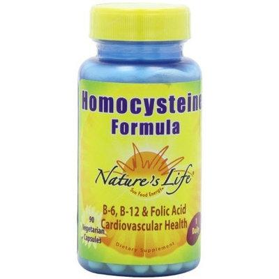 Nature's Life Homocysteine Formula Capsules, 90 Count