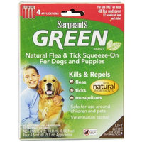 Sergeant's Pet Sergeant's Green Flea and Tick Squeeze-On Dog