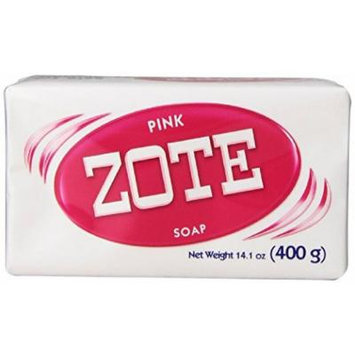 Zote Laundry Soap Bar Pink 14.1 oz (Pack of 6)
