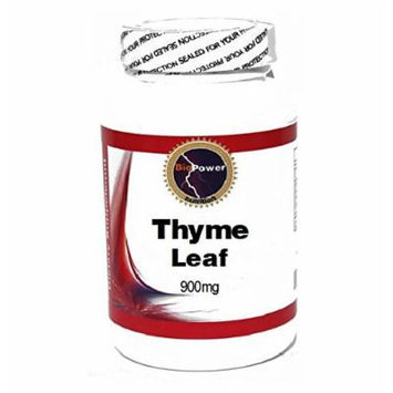 Thyme Leaf 900mg 90 Capsules # BioPower Nutrition