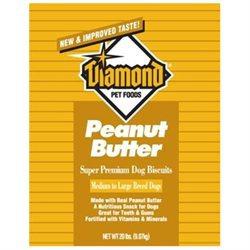 Diamond Pet Foods Diamond Gourmet Peanut Butter Dog Treat 20lb