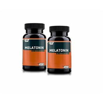 Optimum Nutrition Melatonin 3mg, 100 Tablets (2 packs)
