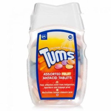 Alli Tums Assorted Fruit Antacid Tablets