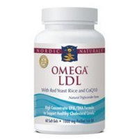 Nordic Pure Nordic Naturals Omega LDL with red yeast rice and CoQ10 - 120 softgels