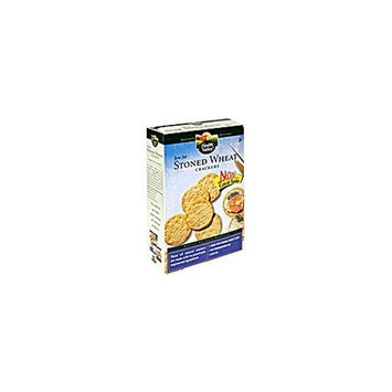Health Valley Low-Fat Crackers, Stoned Wheat, 6 oz