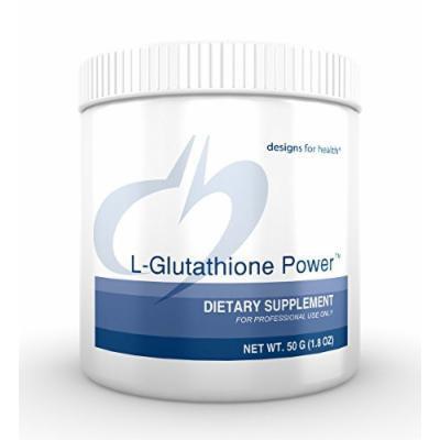 Designs for Health , L-Glutathione Power , 50g.