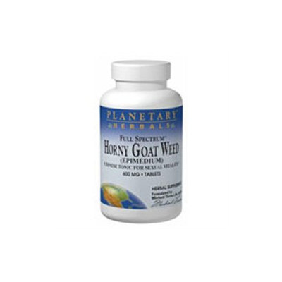 Planetary Herbals Full Spectrum Horny Goat Weed - 1200 mg - 8 Tablets