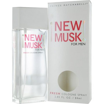 New Musk Musk For Men By Prince Matchabelli For Men. Cologne Spray 2.85 Oz.