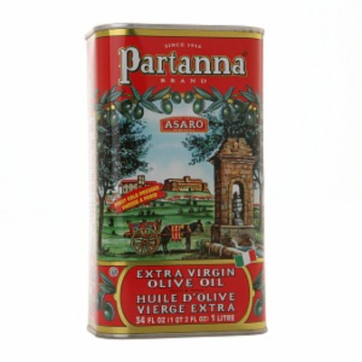Partanna Extra Virgin Olive Oil Tin