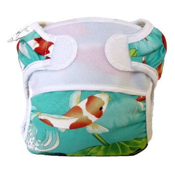 Bummis Swimmi Swim Diaper, Koi Pond, Medium (Discontinued by Manufacturer)