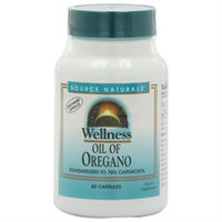 Source Naturals Wellness Oil of Oregano 60 capsules
