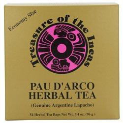 Pau D'Arco Herbal Tea 54 Ct by Hobe Laboratories (1 Each)