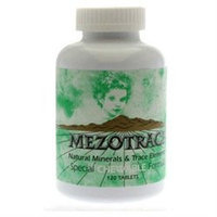 Mezotrace Natural Minerals and Trace Elements - 120 Chewable Tablets