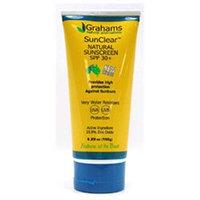 Grahams Natural Alternatives SunClear Natural Sunscreen SPF 30 Plus - 5.29 fl oz