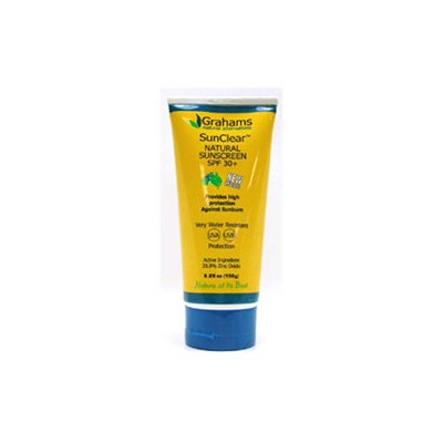 Grahams Natural Alternatives SunClear Natural Sunscreen SPF 30 Plus - 5.29 fl oz