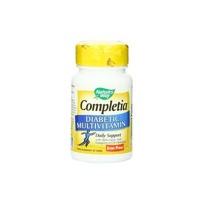 tures Way Nature's Way Completia Diabetic Multivitamin - 30 Tablets