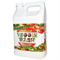 Citrus Magic Veggie Wash - Natural Fruit and Vegetable Wash Refill - 1 Gallon