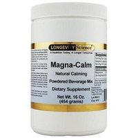 Longevity Science Magna-Calm Powder Lemon - 16 oz