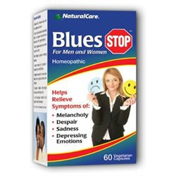 Blues Care, Homeopathic, 60 Vegetarian Capsules, NaturalCare