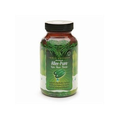 Irwin Naturals Non-Drowsy Aller-Pure Dietary Supplement Liquid Softgels 60 liquid softgels