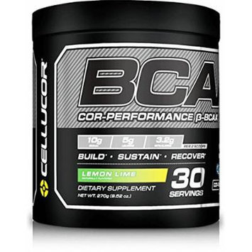 Cellucor Performance BCAA Supplement, Lemon Lime, 30 SERVINGS, 9.52 OZ