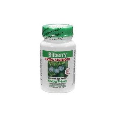 Yerba Prima Bilberry Extra Strength - 160 mg - 50 Capsules