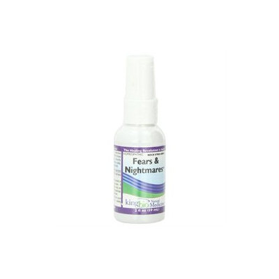 Fears & Nightmares, 2 oz, King Bio Homeopathic (KingBio)