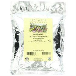 Starwest Botanicals Milk Thistle Seed Whole Organic - 1 lb