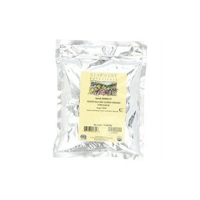 Starwest Botanicals - Bulk Black Pepper Medium Grind Organic - 1 lb.