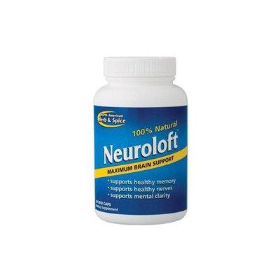Merican Herb Spice North American Herb & Spice, Neuroloft 60 Vegetarian Capsules