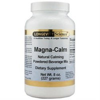 Magna-Calm Instant Magnesium Drink Powder 8 oz from Longevity Science