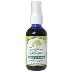 Flower Essence Services - Herbal Flower Oil Dandelion Dynamo - 2 oz.
