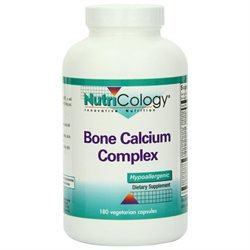 Allergy Research nutricology Allergy Research (Nutricology) Bone Calcium Complex - 180 Capsules - Other Supplements
