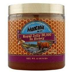 Montana Naturals - Royal Jelly 30000 In Honey - 11 oz.