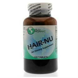 World Organic Hair-Nu Supplement - 120 Tablets
