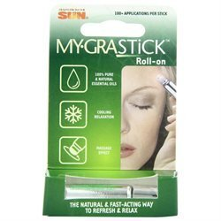 Health From the Sun Mygrastick Roll-On Clip Strip - 3 mL