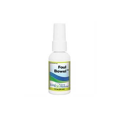 King Bio - Homeopathic Natural Medicine Foul Bowel - 2 oz. CLEARANCE PRICED.
